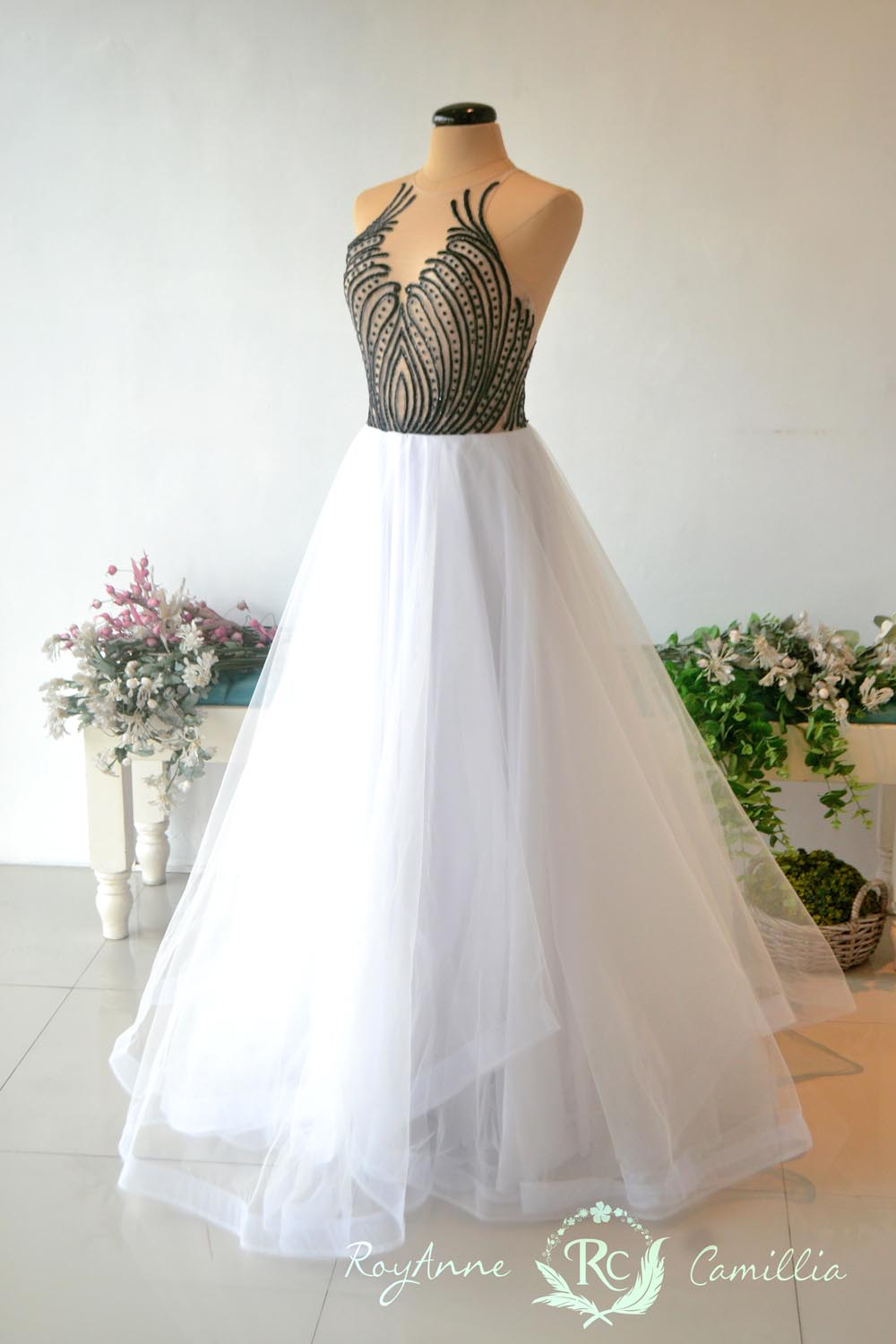 Ashmina royanne camillia couture bridal gowns and gown for Rent for wedding dress