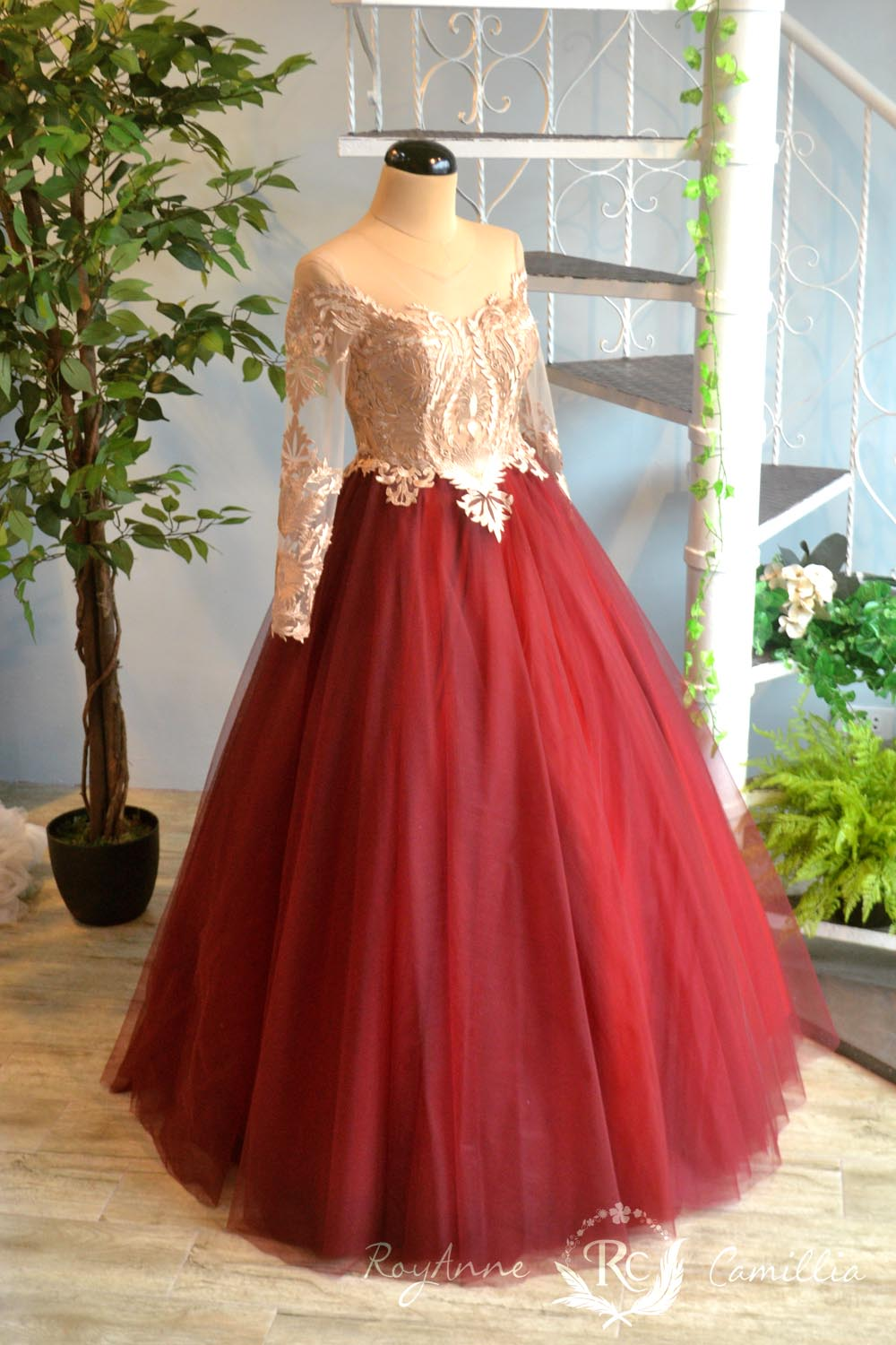 Ashley royanne camillia couture bridal gowns and gown for Rent for wedding dress