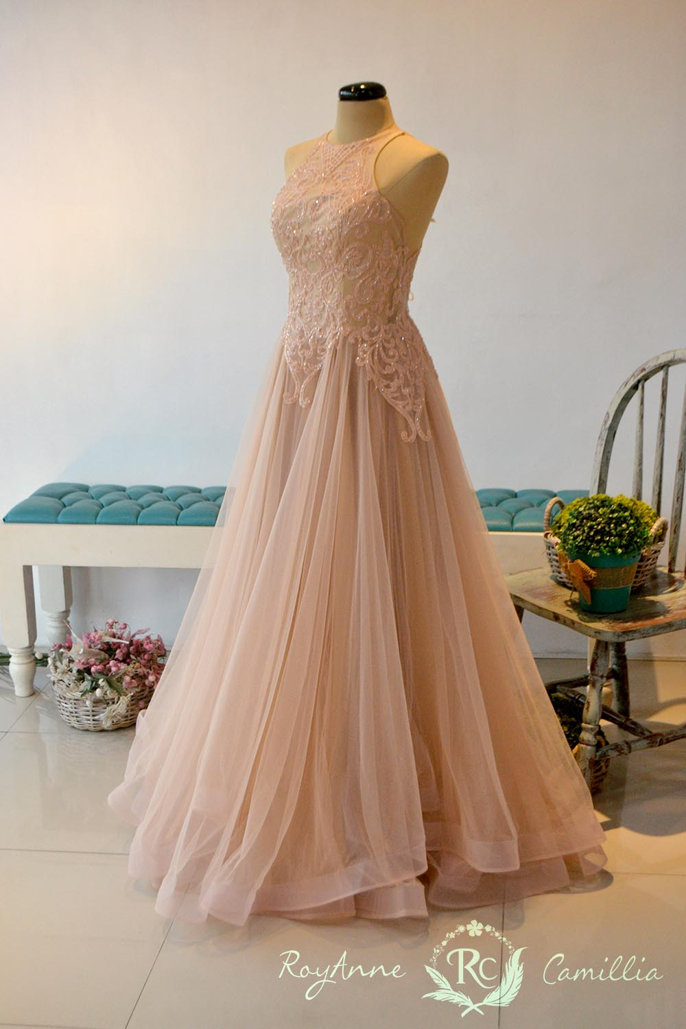 Bernadette - RoyAnne Camillia Couture- Bridal Gowns and Gown rentals ...