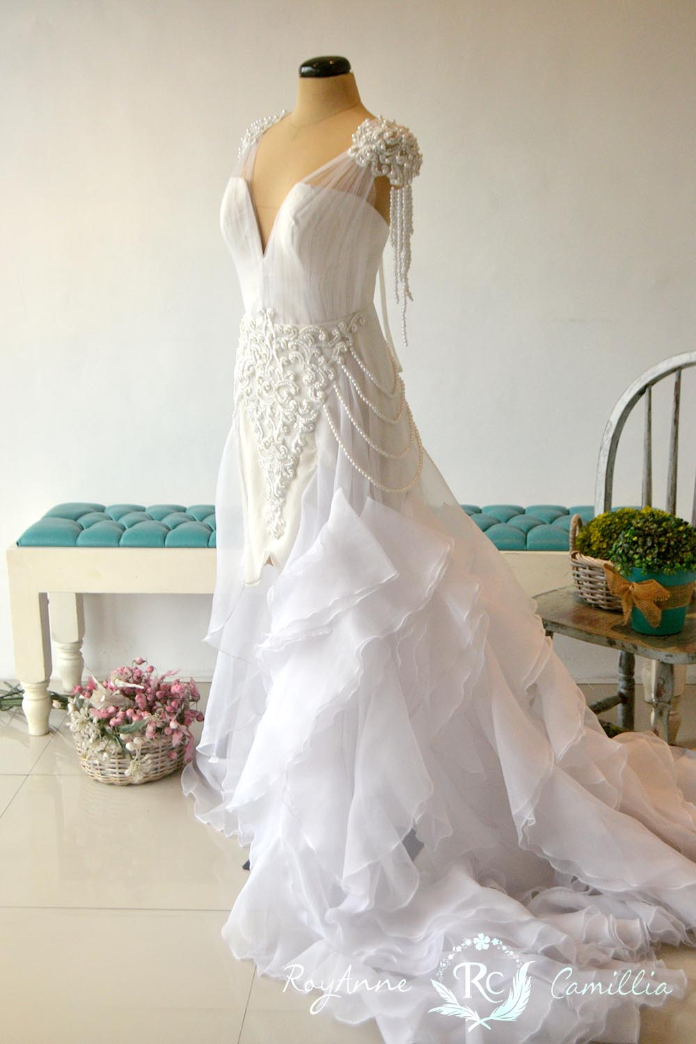 Vivian - RoyAnne Camillia Couture- Bridal Gowns and Gown rentals in ...