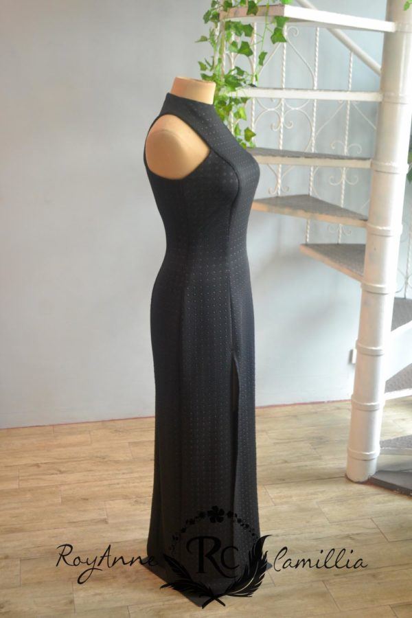 black gown rental by royanne camillia couture manila