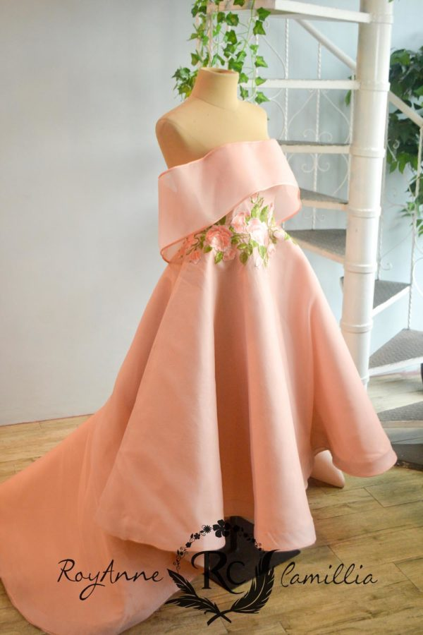 pink rental gown by royanne camillia couture manila